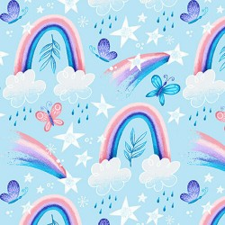 Sparkle Like A Unicorn - Rainbows Blue - PRE-ORDER DUE APRIL
