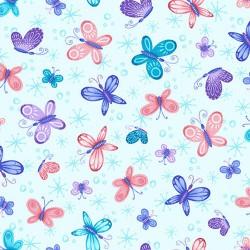 Sparkle Like A Unicorn - Butterflies Light Blue - PRE-ORDER DUE APRIL
