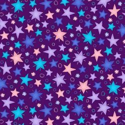 Sparkle Like A Unicorn - Stars Dark Purple - PRE-ORDER DUE APRIL