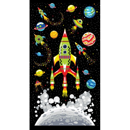Blast Off Into Space - Panel - PRE-ORDER DUE MARCH