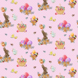 Bunny Tails - Bunny and Basket - PRE-ORDER DUE DECEMBER/JANUARY