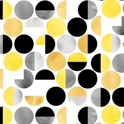 Misty Morning - Geometric Dots Multi - PRE-ORDER DUE MARCH