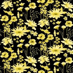 Misty Morning - Daisy Black Yellow - PRE-ORDER DUE MARCH