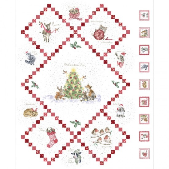 Warm Wishes - Wallhanging Panel