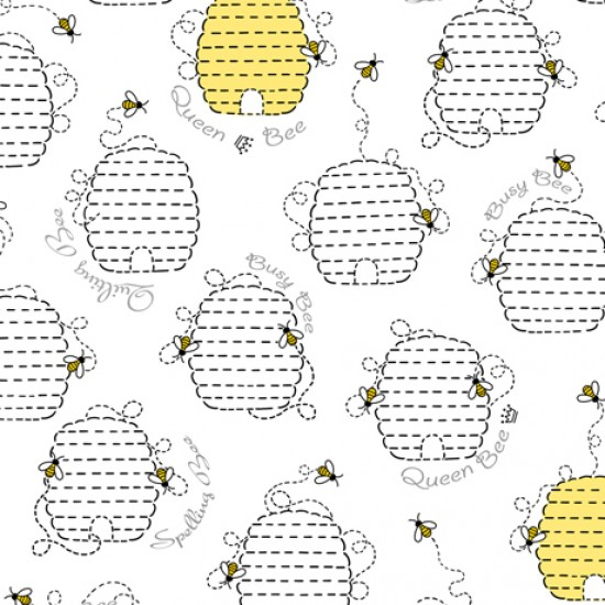 All The Buzz - Beehives White - PRE ORDER DUE March