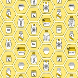 All The Buzz - Honey Jars Yellow