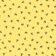 All The Buzz - Bees Yellow