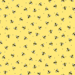 All The Buzz - Bees Yellow - PRE ORDER DUE March