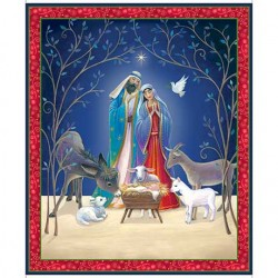 Christ Is Born - Nativity Panel