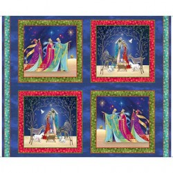 Christ Is Born - Nativity Picture Patches