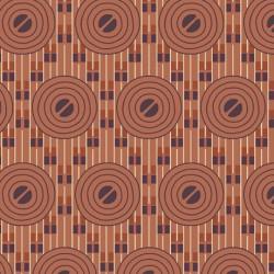 Coco Chic - Deco Circles Terracotta - PRE ORDER DUE FEBRUARY