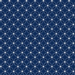 Danbury - Geo Lattice Navy
