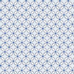 Danbury - Geo Lattice White