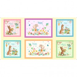 Easter Parade - Happy Easter Bunny Patches - PRE-ORDER DUE FEBRUARY