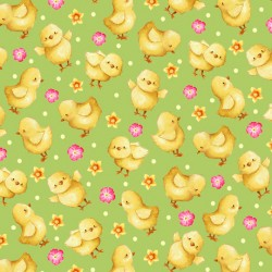 Easter Parade - Chicks Light Green - PRE-ORDER DUE FEBRUARY