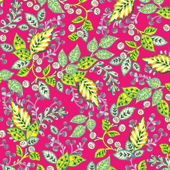 Evelyn - Leaf Vine Pink - PRE-ORDER DUE JANUARY