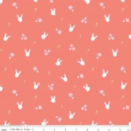 Easter Egg Hunt - Bunnies Coral - PRE-ORDER DUE JANUARY/FEBRUARY