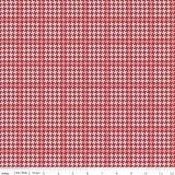 Enchanted Meadow - Houndstooth Red - PRE-ORDER DUE FEBRUARY