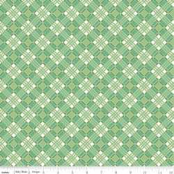 Flea Market - Plaid Green - PRE-ORDER DUE JANUARY/FEBRUARY
