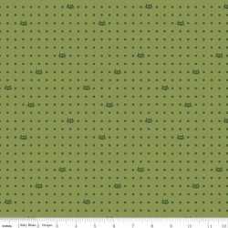 Mod Meow - Dots Olive - PRE-ORDER DUE FEBRUARY/MARCH
