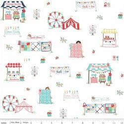 Quilt Fair by Tasha Noel - Main White - PRE-ORDER DUE DECEMBER/JANUARY
