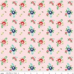 Quilt Fair by Tasha Noel - Floral Pink - PRE-ORDER DUE DECEMBER/JANUARY