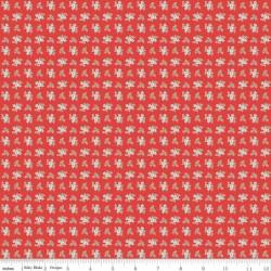 Quilt Fair by Tasha Noel - Ditzy Red - PRE-ORDER DUE DECEMBER/JANUARY