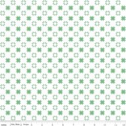 Quilt Fair by Tasha Noel - Quilty Stars Green - PRE-ORDER DUE DECEMBER/JANUARY