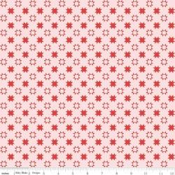 Quilt Fair by Tasha Noel - Quilty Stars Pink - PRE-ORDER DUE DECEMBER/JANUARY