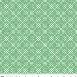 Quilt Fair by Tasha Noel - Quilty Chain Green - PRE-ORDER DUE DECEMBER/JANUARY