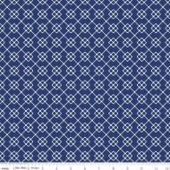 Quilt Fair by Tasha Noel - Quilty Chain Navy - PRE-ORDER DUE DECEMBER/JANUARY