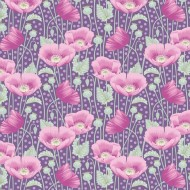 Gardenlife by Tilda - Poppies Lilac - PRE-ORDER DUE MAY