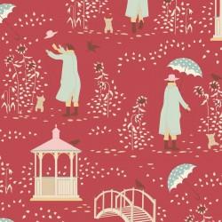 Windy Days by Tilda - Windy Walk Red