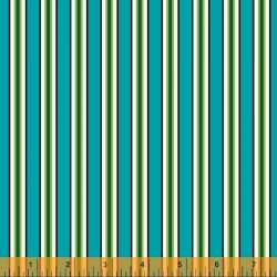 Five And Ten - Candy Stripe Cyan - PRE-ORDER DUE MAY