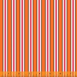 Five And Ten - Candy Stripe Orange - PRE-ORDER DUE MAY