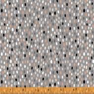 Mod Cat - Mod Dots Grey