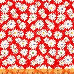 Sugarcube - Daisy Dots Red - PRE-ORDER DUE NOVEMBER