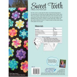 Sweet Tooth Block of the Month Quilt Book by Jaybird Quilts