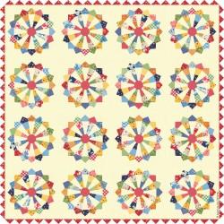 American Jane - Pop A Wheelie Quilt Pattern