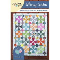 Color Girl - Whimsy Garden Quilt Pattern