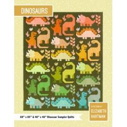 Elizabeth Hartman - Dinosaurs Quilt Pattern