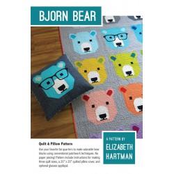 Elizabeth Hartman - Bjorn Bear Quilt Pattern