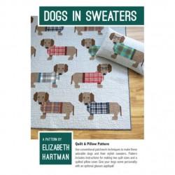 Elizabeth Hartman - Dogs In Sweaters Quilt Pattern