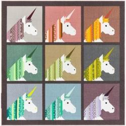 Elizabeth Hartman - Lisa The Unicorn Quilt Pattern