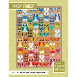 Elizabeth Hartman - Fancy Forest Quilt Pattern