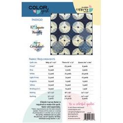 Color Girl - Indigo Quilt Pattern