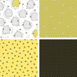 All The Buzz - Fat Quarter Bundle - PRE ORDER DUE March