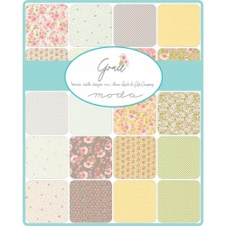 Grace - *Complete Fat Quarter Bundle - 30 FQs with 3 FQs Free and Mystery Gift!* - PRE-ORDER DUE SEPTEMBER