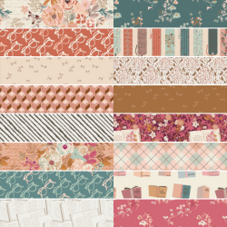 Bookish - *Complete Fat Quarter Bundle - 16 FQs and 1 FQ Free* - PRE-ORDER DUE SEPTEMBER