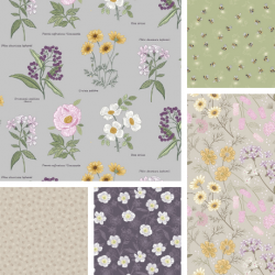 Botanic Garden - Bundle of 5 FQs 2 - PRE ORDER DUE MARCH